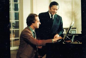 With Arthur Grumiaux, Concertgebouw, Amsterdam, 1977