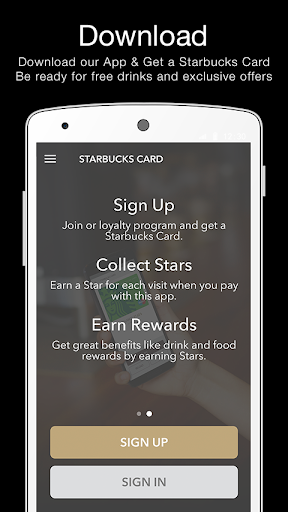 Starbucks Turkey screenshot 1