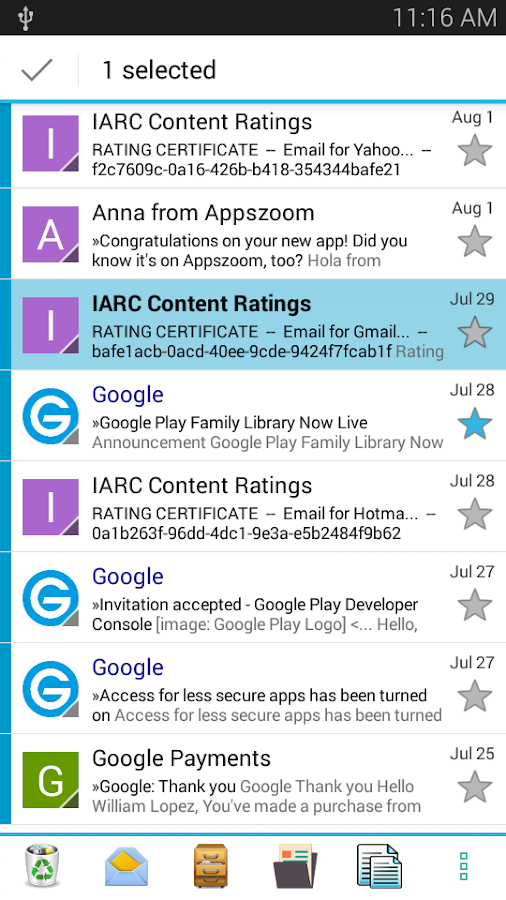 Email App - All Mails Pro Screenshot 10