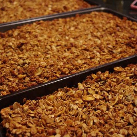 Nutty and Fruity Granola