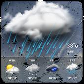 Clock & Weather - Rainy APK for Ubuntu