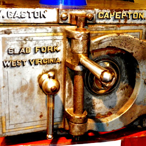 Mine Safe by Leah Zisserson - Products & Objects Business Objects ( coal miners, safes, west virginia, museum, antiques,  )