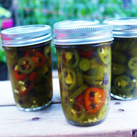 Pickled Jalapeno Peppers.