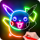 Draw Glow Cartoon - How to draw APK