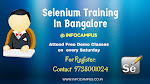 Selenium training in Bangalore with Job Assistance: