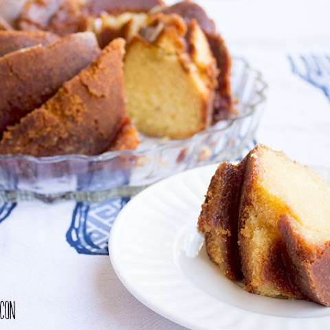 Rum-Soaked Honey Pound Cake