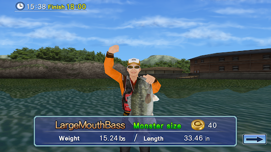 Game bass fishing 3d free apk for windows phone android for Fishing game android