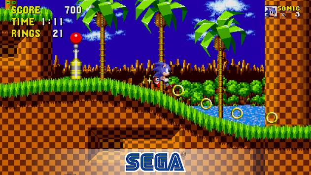 Sonic the Hedgehog™ apk screenshot