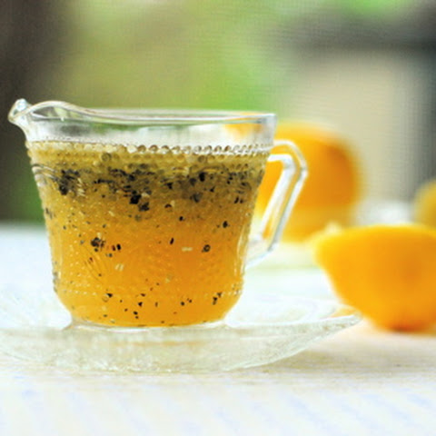 Honey Lemon Poppyseed Vinaigrette