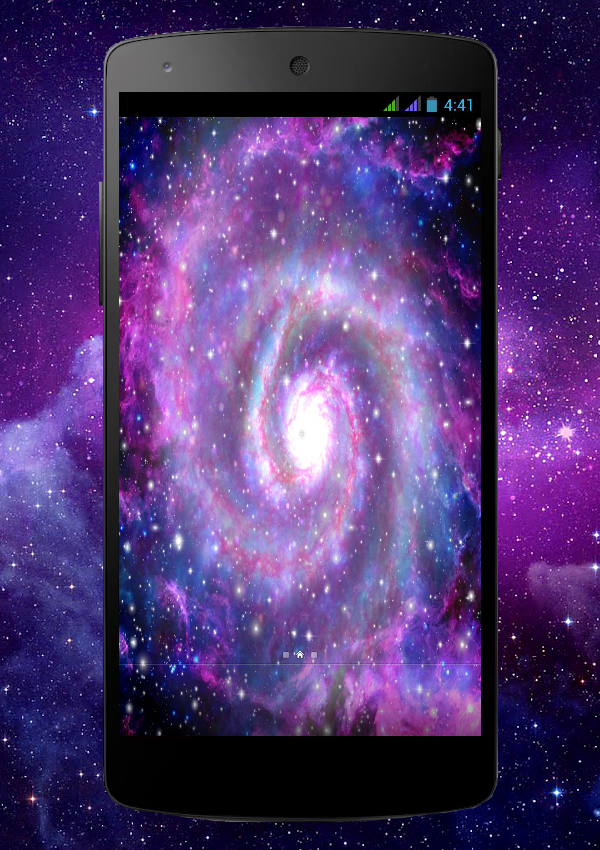 Galaxy Pro Live Wallpaper Screenshot 2