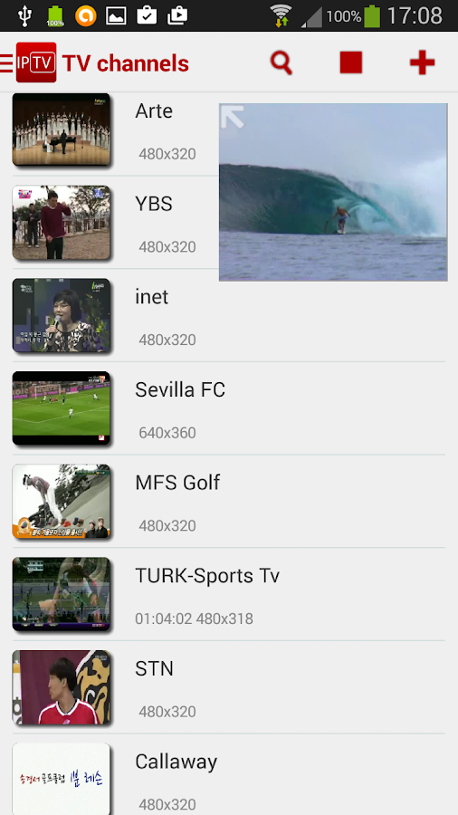 IPTV Player Pro Screenshot 0