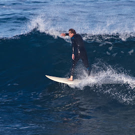 Surfing5 by Mark Holden - Sports & Fitness Surfing