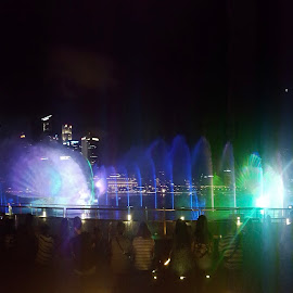 Singapore Fountain by Riddhima Chandra - City,  Street & Park  Fountains (  )