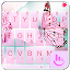 Pink Butterfly Keyboard Theme APK for Nokia