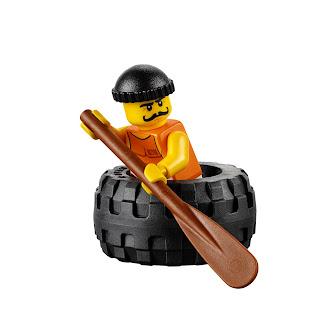Побег в шине