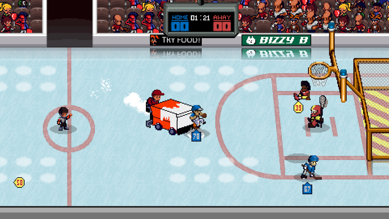 Super Slam Dunk Touchdown Screenshot