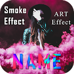3D Smoke Effect Name Art Maker: Focus Filter Maker Icon