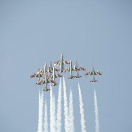 Su nel cielo by Mauro Amoroso - Transportation Airplanes