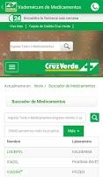 Screenshot of Cruz Verde
