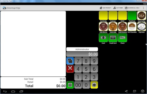 Advantage Mobile POS Lite - screenshot