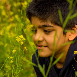 Portrait | Nature  by Nikhil Mace - People Portraits of Men ( portrait photographers, nature, kids portrait, portrait, emotion )