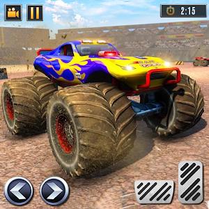 Real Monster Truck Demolition Derby Crash Stunts For PC / Windows 7/8/10 / Mac – Free Download