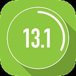 Half Marathon Trainer 13.1 21K Icon