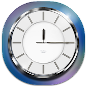 Download Chrome Analog Clock APK for Android Kitkat