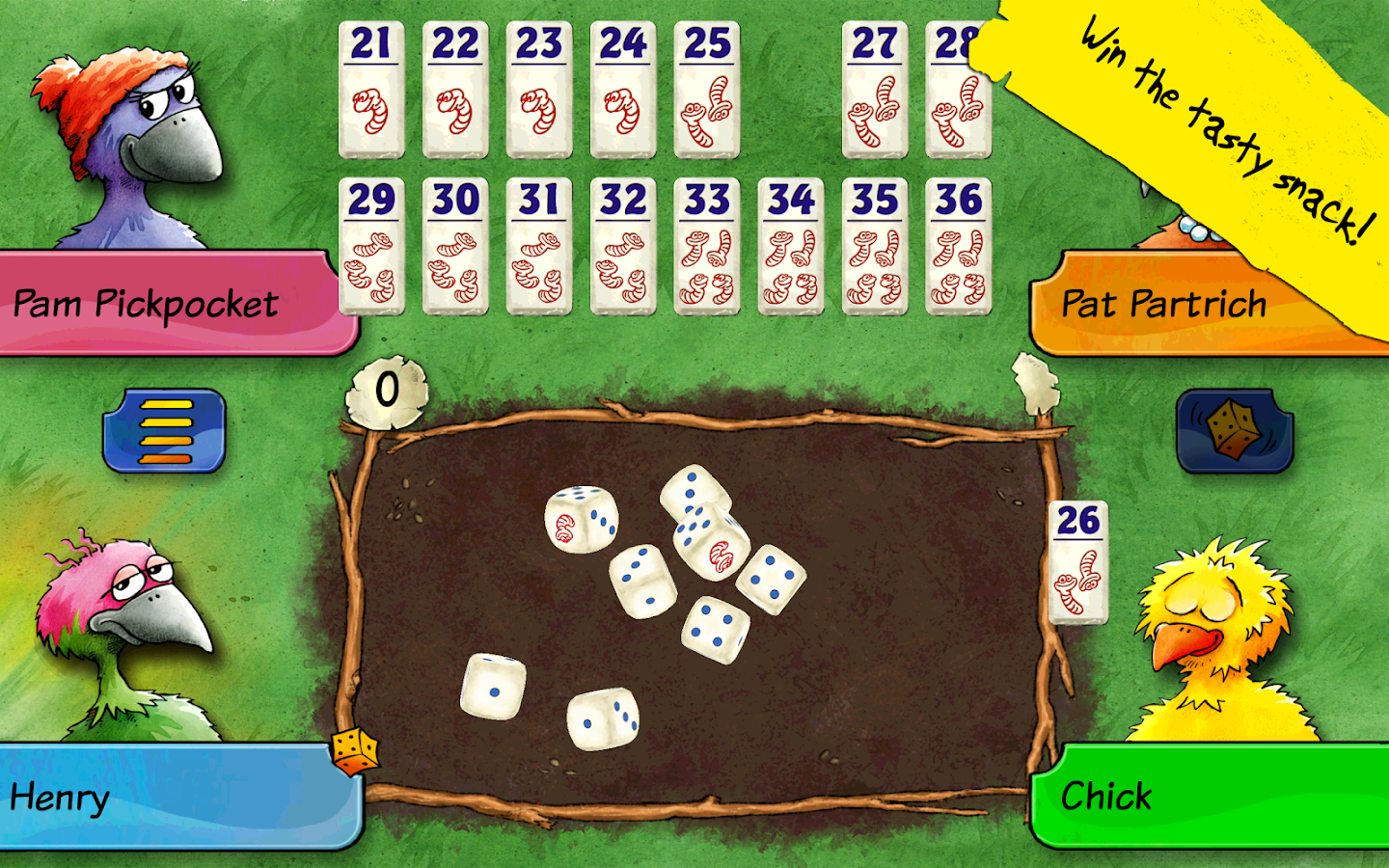 Pickomino by Reiner Knizia Screenshot 6