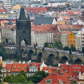 Prague by Darko Kordic - City,  Street & Park  Vistas