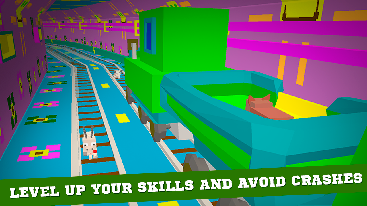 Cube Subway Train Simulator 3D Screenshot 3