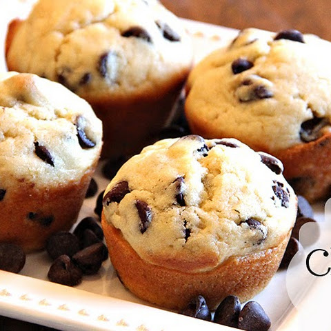 Perfect Chocolate Chip Muffins