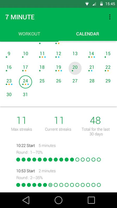 7 Minute Workout Pro Screenshot 2