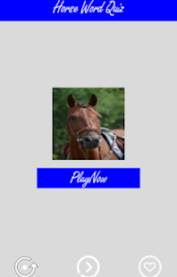 Horses Word Game Quiz - screenshot