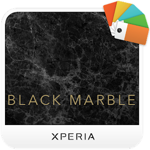 Download XPERIA™ Black Marble Theme For PC Windows and Mac