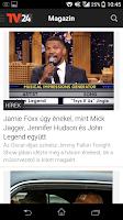 Screenshot of TV24