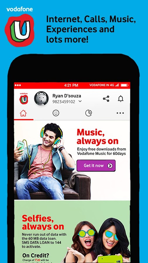 MyVodafone (India) Screenshot 0