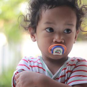 little rayyan by Budie Deathlust - Babies & Children Children Candids ( son boy child morning )