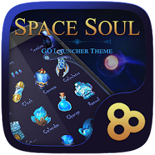 Space Soul Go Launcher Theme