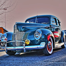Ford Deluxe by Jeffrey Lorber - Transportation Automobiles ( car, vintage auto, 1940's, lorberphoto, post war, deluxe, auto, lorber, ford, ford deluxe, jeffrey lorber,  )