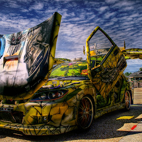 Transformer car by Mohamad Sa'at Haji Mokim - Transportation Automobiles ( car, hdr )
