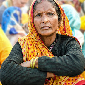 Inexplicable by Nirupam Roy - People Portraits of Women ( kumbha, looks, women, portrait, photography )