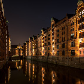Speicherstadt, Hamburg by Horizon Photo - City,  Street & Park  Neighborhoods ( speicherstadt, germany, hamburg )