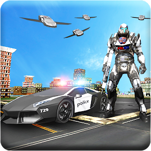 Download US Police Robot Car Transformation: Car Transform For PC Windows and Mac