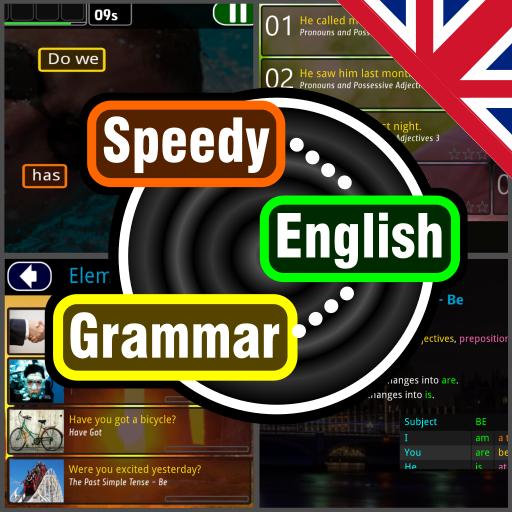 Speedy English Grammar -Basic ESL Course & Lessons (game)