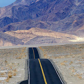 Endless road by Peter Cheung - Landscapes Travel ( death valley, california,  )