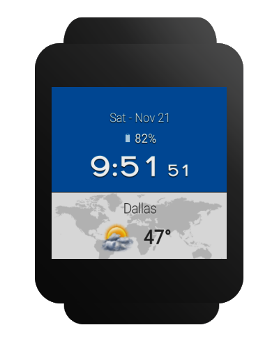 Weather & Clock Widget for Android Ad Free Screenshot 17