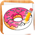 APK App How to Draw Desserts for BB, BlackBerry