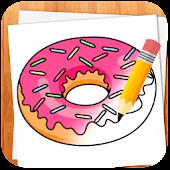 Wie Desserts zeichnen