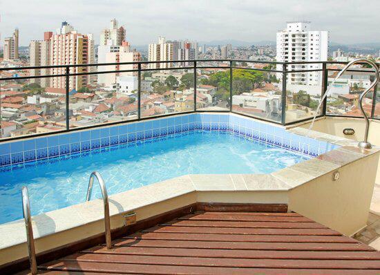 Flat MOBILIADO com 1 dormitório à venda, 48 m² - Anhangabaú - Jundiaí/SP